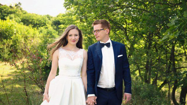 Plener ślubny M&M / Plenerowa sesja ślubna w Parku Oliwskim / Gdańsk