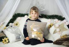 W świątecznej atmosferze... / Dziecięca, biała sesja świąteczna / Gdańsk