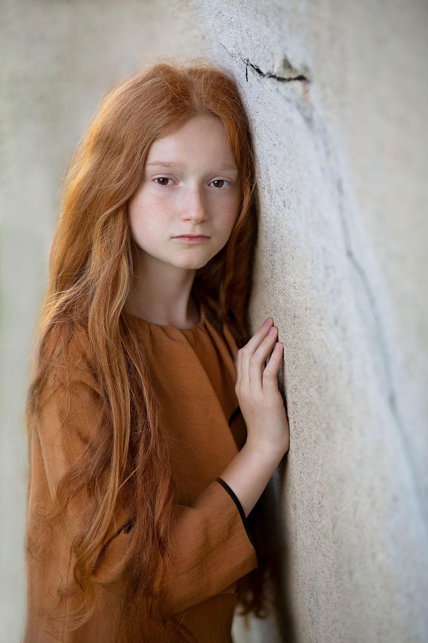 Artystyczna sesja dziecięca / Fotografia portretowa / Rude jest piękne / Gdańsk