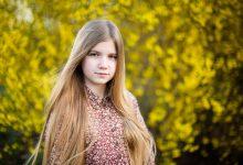 Sesja fotograficzna w plenerze / Sesja fotograficzna w Gdańsku / Wiosenny portret w kwitnących kwiatach / Sesja kobieca / Fotograf Gdańsk